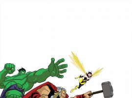 Marvel Universe Avengers: Earth's Mightiest Heroes #1 cover
