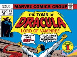 Tomb of Dracula (1972) #63 Cover