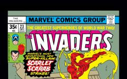 Invaders (1975) #23 Cover