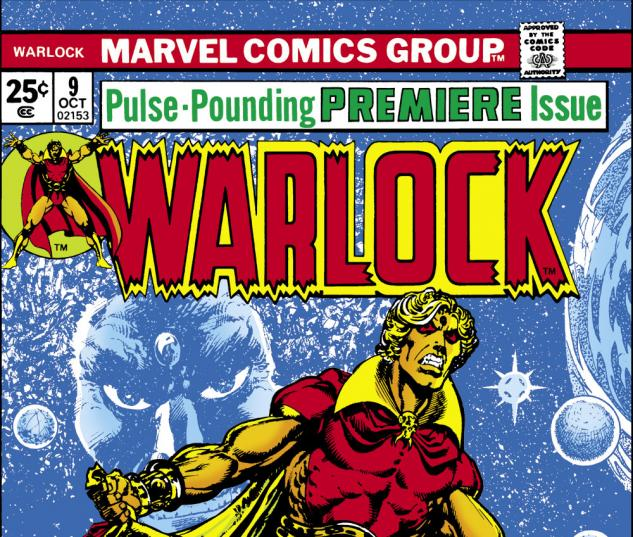 Warlock (1972) #9 Cover