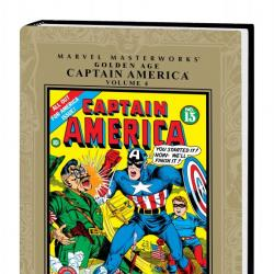 Marvel Masterworks: Golden Age Captain America Vol. 4 (Hardcover)
