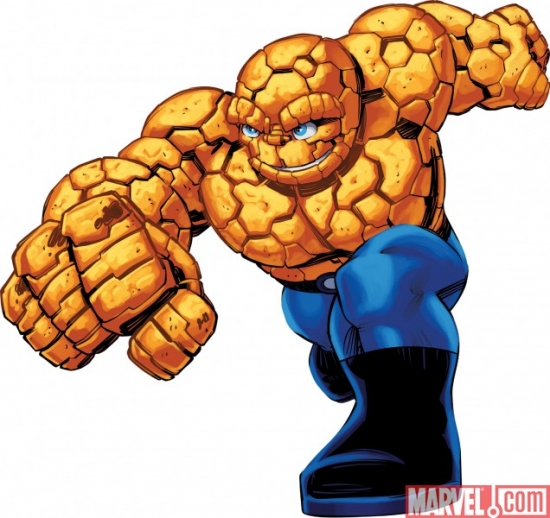 Marvel Super Hero Squad The Thing