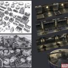 Marvel: Ultimate Alliance 2 Spotlight: Chemical Plant Concept Art