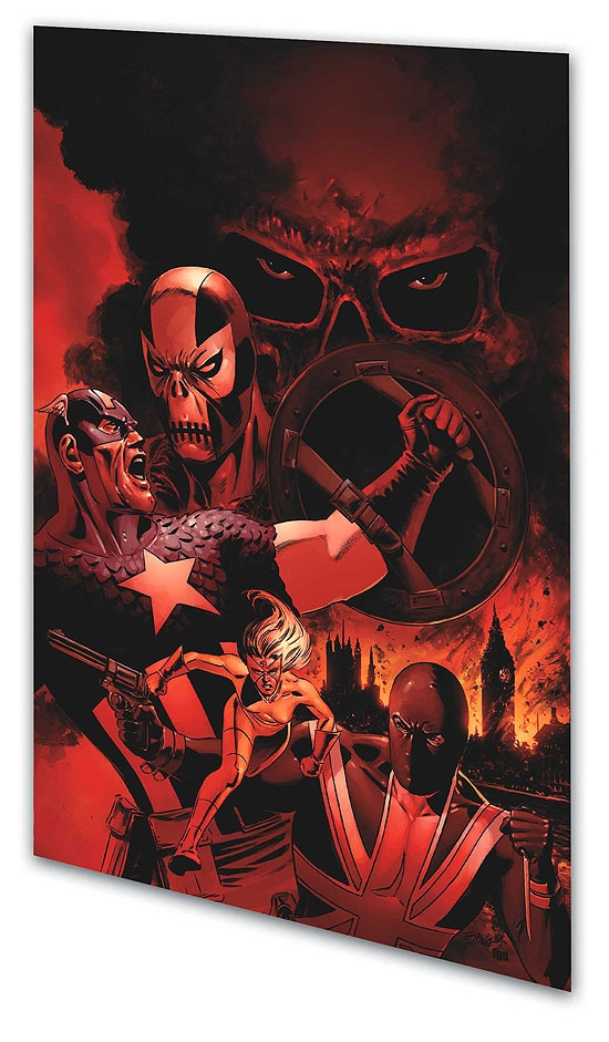 Captain America: Red Menace Vol. 2 (Trade Paperback)