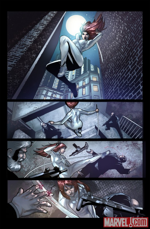 SHADOWLAND: DAUGHTERS OF THE SHADOW #1 preview art by Ivan Rodriguez 1