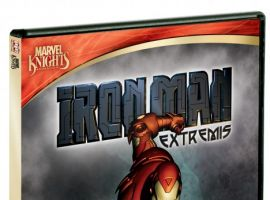 'Iron Man: Extremis' DVD cover