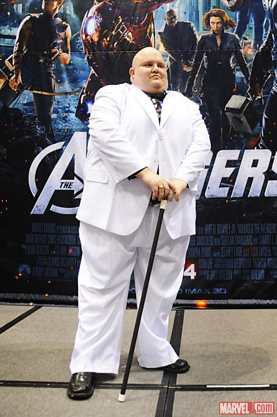C2E2 2012: Kingpin in the Marvel Costume Contest