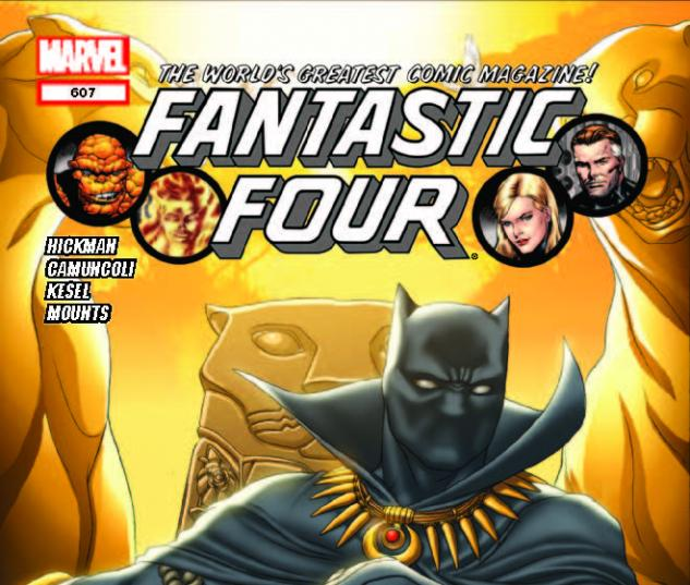 FANTASTIC FOUR 607