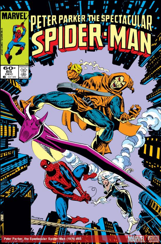 Peter Parker, the Spectacular Spider-Man (1976) #85 Cover