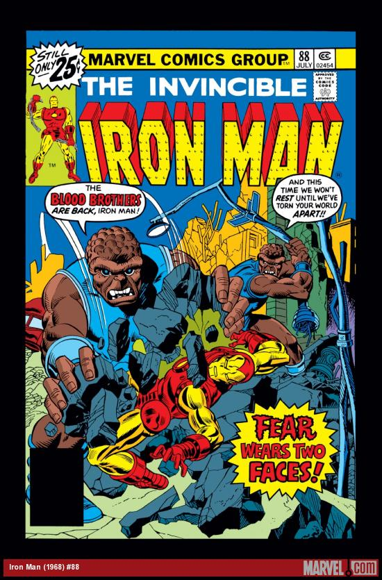 Iron Man (1968) #88 Cover