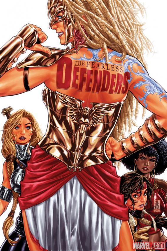 Fearless Defenders #3 cover by Mark Brooks