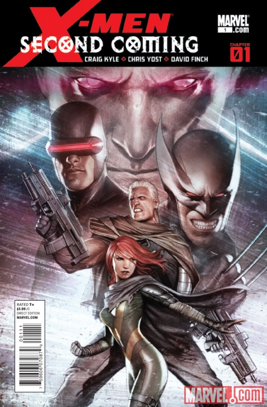 X-MEN: SECOND COMING #1 Cover by Adi Granov