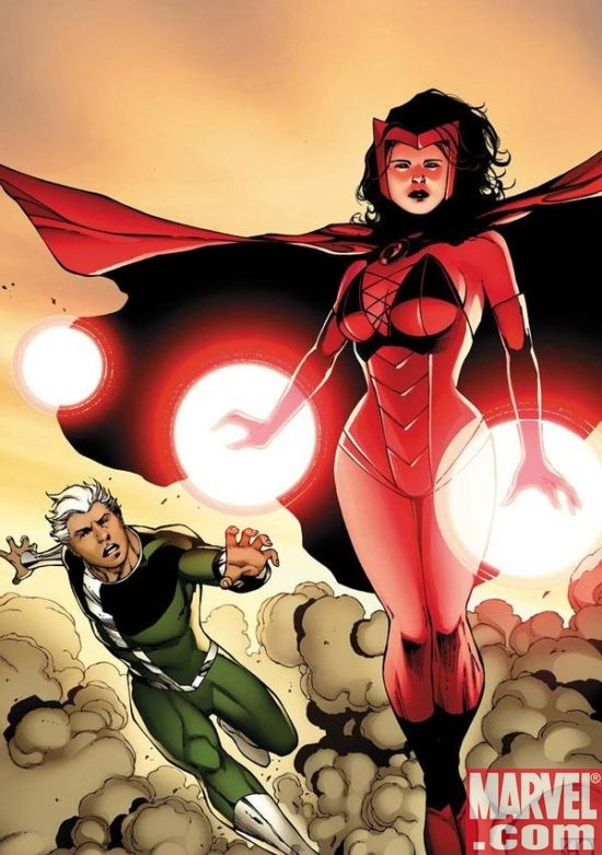 Quicksilver & The Scarlet Witch