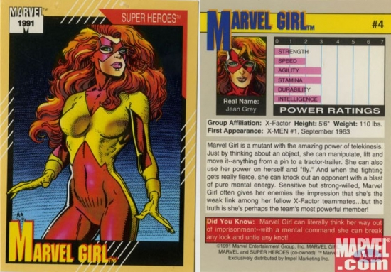 Marvel Girl, Card #4