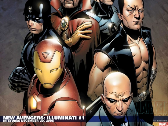 New Avengers: Illuminati (2006) #1 Wallpaper