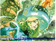 Fantastic Four: True Story (2008) #1 Wallpaper