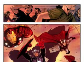 Image Featuring Winter Soldier, Hawkeye, Iron Man, J. Jonah Jameson, Spider-Man