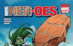 HER-OES #3 cover by Sara Pichelli