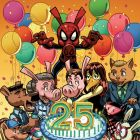 SPIDER-HAM 25TH ANNIVERSARY preview art by Jacob Chabot 7