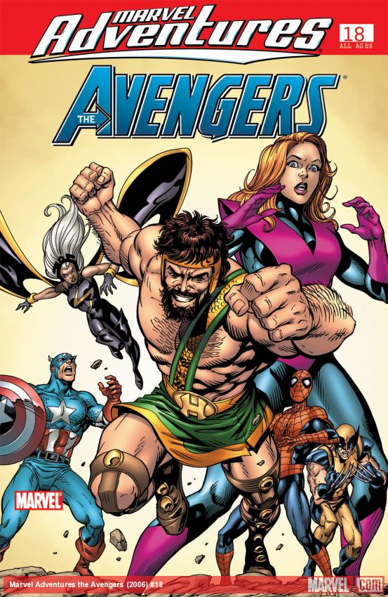 Marvel Adventures the Avengers (2006) #18