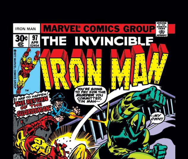 Iron Man (1968) #97 Cover
