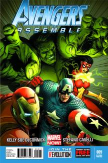 Avengers Assemble (2012) #9 (2nd Printing Variant)