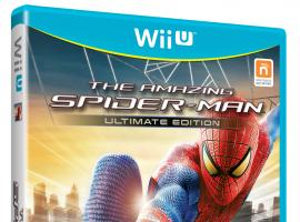 Cover art for The Amazing Spider-Man Wii U game