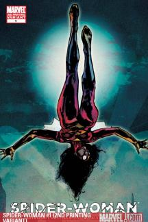 Spider-Woman (2009) #1 (2ND PRINTING VARIANT)