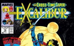 EXCALIBUR #16 COVER