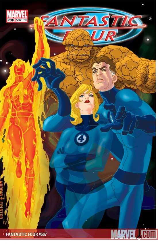 FANTASTIC FOUR (2004) #507 COVER