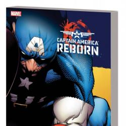 Captain America: Reborn Quesada Variant (DM Only) (Trade Paperback)