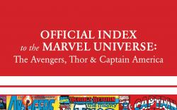 Avengers, Thor &amp; Captain America: Official Index to the Marvel Universe #11