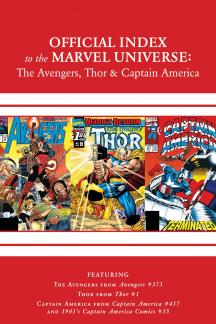 Avengers, Thor & Captain America: Official Index to the Marvel Universe #11