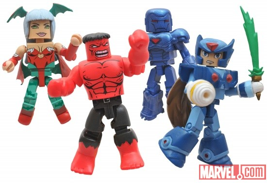 SDCC 2011 Exclusive Marvel vs. Capcom 3 Minimates from Toys ''R'' Us 