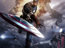 Poster art from Captain America: Super Soldier by Next Level Games