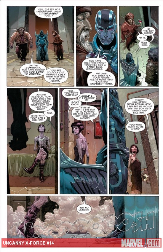 Uncanny X-Force #14 Preview Art by Jerome Opeña