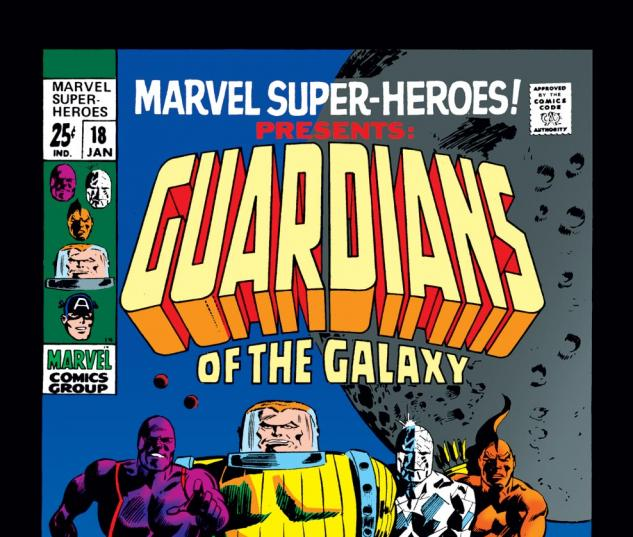 Marvel Super-Heroes (1967) #18 Cover