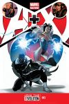 A+X (2012) #3 Cover
