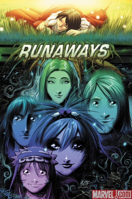 RUNAWAYS #12 cover by David Lafuente