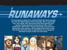 RUNAWAYS #13, intro page