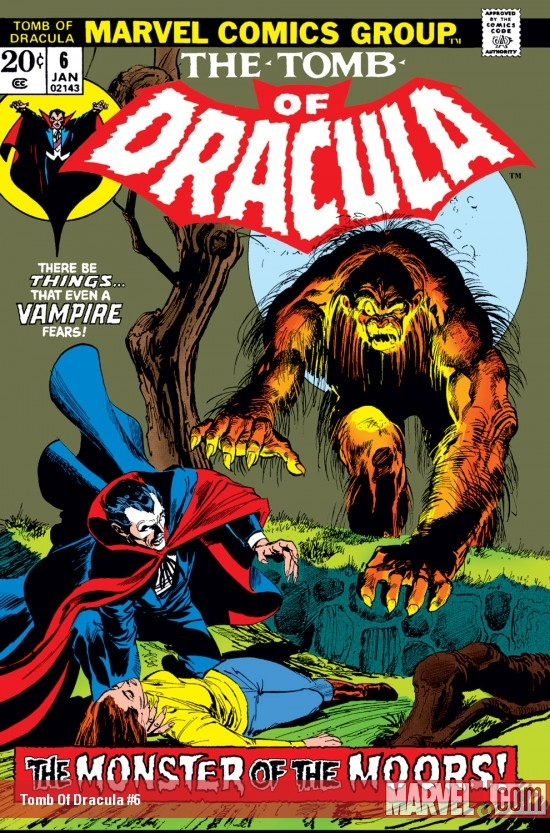Tomb Of Dracula #6