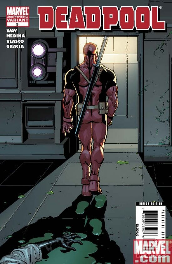 DEADPOOL #3 2nd Printing Variant