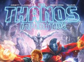 THE THANOS IMPERATIVE #5 cover by Aleksi Briclot