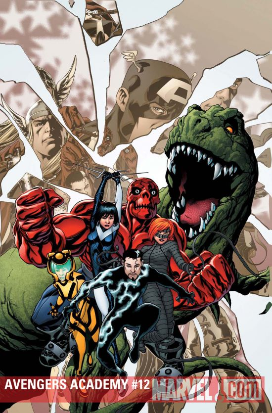Avengers Academy #12 cover by Mike McKone