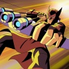 Screenshot of Hawkeye from The Avengers: Earth's Mightiest Heroes!