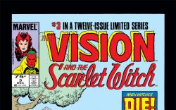 Vision and the Scarlet Witch (1985) #3 Cover