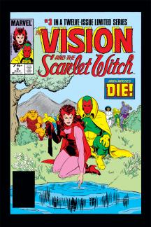 Vision and the Scarlet Witch (1985) #3