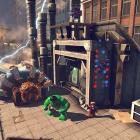 Hulk, Iron Man and Spider-Man embark on a task in LEGO Marvel Super Heroes