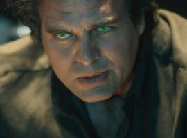 Bruce Banner (Mark Ruffalo) gets angry in Marvel's Avengers: Age of Ultron