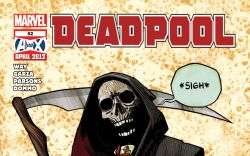 DEADPOOL (2008) #52 Cover